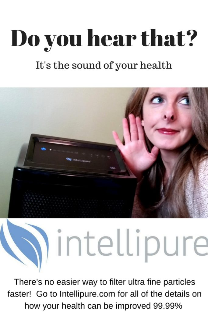 Nutrimom with her Intellipure Ultrafine 468 Professional Air Purification System